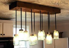 endearing mason jar chandelier kit mason jar chandelier for diy mason jar