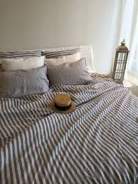 blue and white striped duvet cover. Beautiful White Linen Duvet Cover Striped Linen Bedding Blue And White Cover  Queen King Twin Custom Natural 100 Pure By Linenbee Throughout Blue And White Striped Duvet Cover E