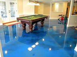 Image Finish It Seems Like Every Spring The Heavy Rains Cause Havok In Basements Throughout Northeast Johnson County The Rain Causes Flash Floods And Our High Moisture Shawnee Mission Post Epoxy The Hidden Gem Of Basement Flooring Options Shawnee Mission