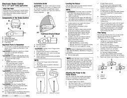 voyager 9030 wiring diagram tekonsha voyager trailer brake controller wiring diagram wiring wiring diagram for a brake controller the
