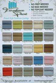 paint colors for furniture. Farmhouse Paint Color Chart. Single Step: No Prep, Wax. $32 A Colors For Furniture F
