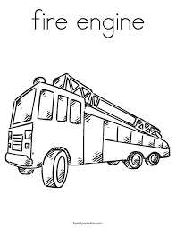 Small Picture Coloring Pages Of Fire Trucks Children Coloring Coloring