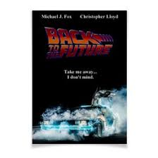 <b>Плакат A3</b>(<b>29.7</b>×<b>42</b>) Назад в будущее / Back to the Future #3438114