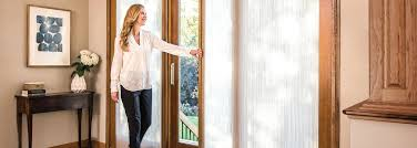 interior shades sliding doors with built in blinds andersen patio