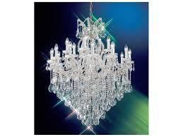 classic lighting corporation maria theresa 19 light 36 wide grand chandelier