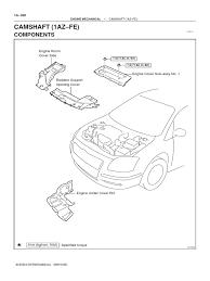 1AZ FSE Repair Manual   Belt (Mechanical)   Fuel Injection