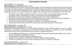 Hr Generalist Resume Human Resources Generalist Resume Business Resume Waitress Resume 58