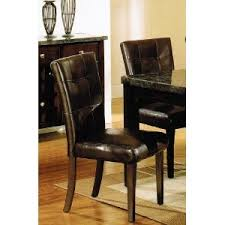 set of 2 parson dining chairs in espresso bycast