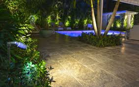 outdoor string lights security patio solar deck lamp post light wall