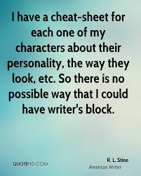 Personality Quotes Classy R L Stine Quotes QuoteHD