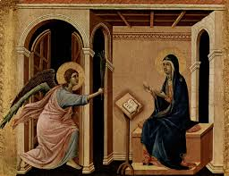 luke 1 26 painting of the annunciation