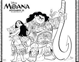 Heart Te Fiti Printable Coloring Pages With Moana Free Great Clipart