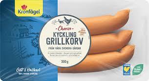 Om alla de skulle välja kyckling istället för kött en enda gång är det som att spara 803 bilresor från stockholm till paris. Kycklinggrillkorv Chorizo Kyckling Fran Kronfagel