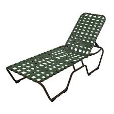 marco island dark cafe brown commercial grade aluminum patio chaise lounge with green vinyl cross straps