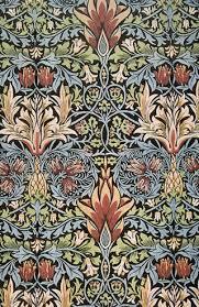 william morris textile wallpaper