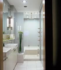 Bathroom  Fancy Recessed Lighting Also Narrow Walk In Shower - Recessed lights bathroom