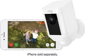ring spotlight cam wire 2 pack white 8x81x7 wen0 best buy ring spotlight cam wire 2 pack white left zoom
