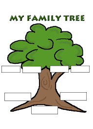 Family Tree Assignment Grace Christian School Grades 1 2