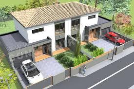 Plan De Maison Jumelee Etage GAZOLINE ...