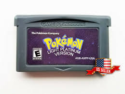 Pokemon Light Platinum Free Download For Visual Boy Advance Pokemon Light Platinum Nintendo Gameboy Advance Gba Fan