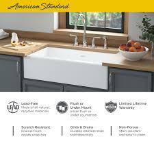 Delancey 36x22 Inch Apron Sink American Standard