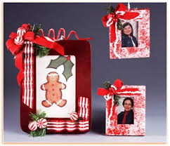 Craft Ideas For Decorating Wooden Picture Frames Picture Frame IdeasChristmas Picture Frame Craft Ideas