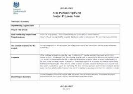 New Project Proposal Template Template For Project Proposals Naomijorge Co
