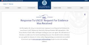 Sample Vawa Cover Letter Request For Evidence What To Do Immigration Learning Center