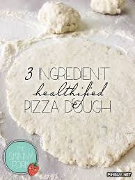 easy homemade pizza dough with self rising flour. 3 ingredient pizza dough [self rising flour, greek yogurt and seasonings, so easy homemade with self flour m