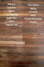 fusion beeswax is made of 100 pure beeswax and hemp oil that s it it s food safe which is very important to me because i cook a lot and food is all over