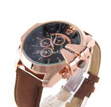 are rose gold watches in style for mens best watchess 2017 aliexpress men watches fashion v6 super sd pu leather trend rose gold