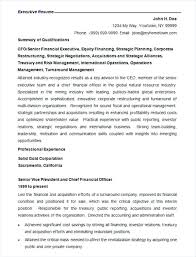 Resume Format Template Microsoft Word Finance Resume Format Template