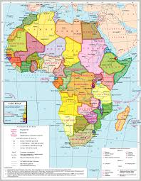 карта Африки Политическая карта Африки