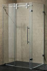 frameless shower doors door cost per square foot