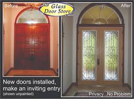 Wrought Iron Glass Inserts In Fiberglass Doors Here Are Replacing - Exterior door glass insert replacement