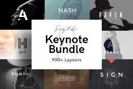 Keynote Presentation Bundle Keynote Templates Creative Market