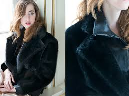 seal er jacket furcoat lady fur