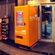 Burrito Vending Machine Custom Los Angeles Now Has A Burrito Vending Machine Which Makes It Number
