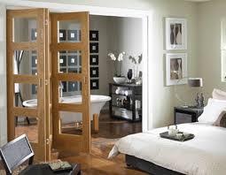 Craftsman Wine Cellar With Builtin Bookshelf U0026 Interior Brick French Doors Interior