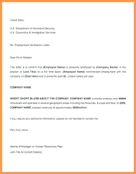 Emplyoment Letter Job Verification Letter Template