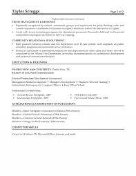 Fire Captain Resume