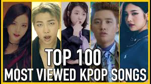 Top 100 Most Viewed K Pop Songs Of All Time February 2018