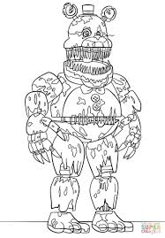 Fnaf Coloring Pages Bonnie Best Of Collection Of Golden Freddy