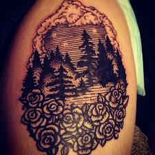 A Beautiful Woodblock Print Tattoo From The Amazingly Talented And