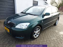TOYOTA Corolla 1.6 #65704 - used, available from stock