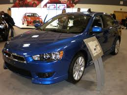 File:2009 blue Mitsubishi Lancer GTS 2.4L front side.JPG ...