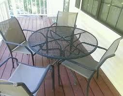 vintage wrought iron patio furniture 4