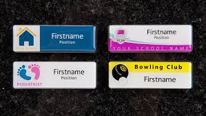 Name Badges Name Tags Full Colour Domed