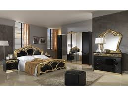 italian furniture bedroom sets. sara bedroom set in black and gold lacquer by mcs furniture made italy italian sets o