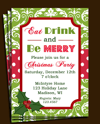 Free Printable Office Christmas Party Invitations Party Stuff